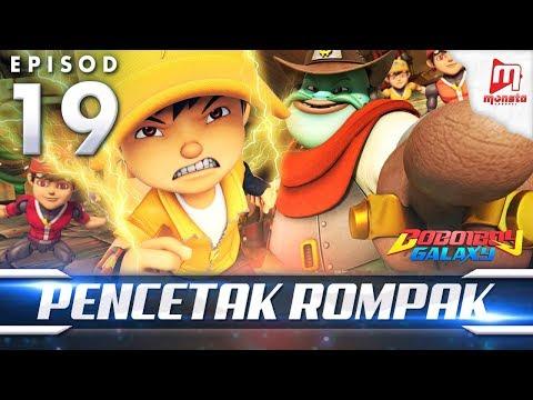 BoBoiBoy Galaxy EP19 | Penjenayah Cetak Rompak - (ENG Subtitle)