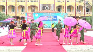 MÚA SẠP NGÀY 26/3/2016  - LỚP 12D (2013 - 2016)- Trường THPT Nam Sách II - Hải Dương.