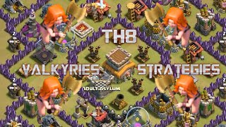 download lagu Valkyries: Best Th8 War Strategy? Guide By Nio gratis