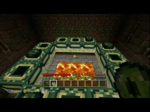 Minecraft: Xbox 360 Edition TUTORIAL ¡ Como crear el portal al END o FIN de manera correcta !