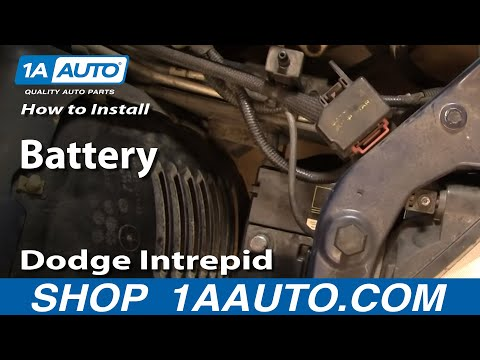 How To Install Replace a Battery Dodge Intrepid 98-04 1AAuto.com