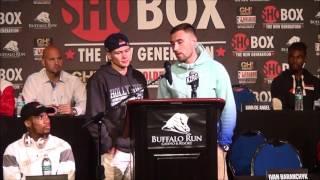 ShoBox Press Conference: Baranchyk vs Smith