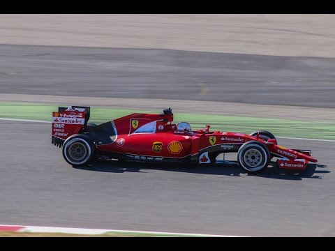 Ferrari SF15T - Pure F1 V6 Turbo Sounds!