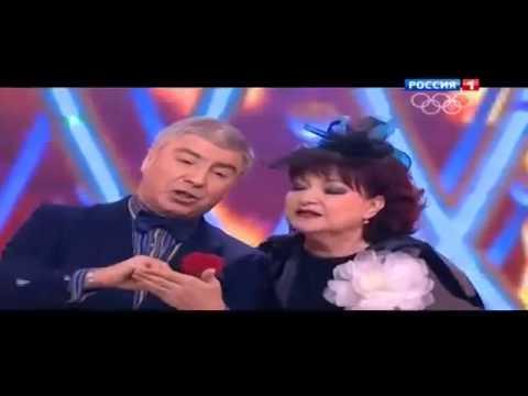 Сосо Павлиашвили и Елена Степаненко- Новый Год (Голубой огонек 2014)