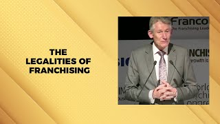 The Legalities of Franchising