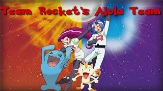 Team Rocket's Alola Team Speculation