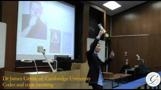 Maths Degree Lecture: mathematics of codes and code-breaking