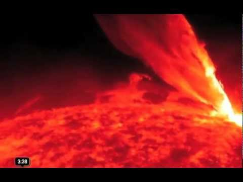 The Carrington event of 1859 - the largest solar flare ever recorded.