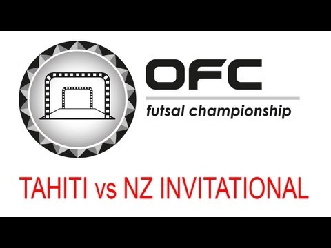 2013 OFC Futsal Championship Invitational Match Day 2 Tahiti vs New Zealand Invitational