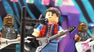 Johnny B. Goode - Back to the Future - @CheepJokes - LEGO Stop Motion
