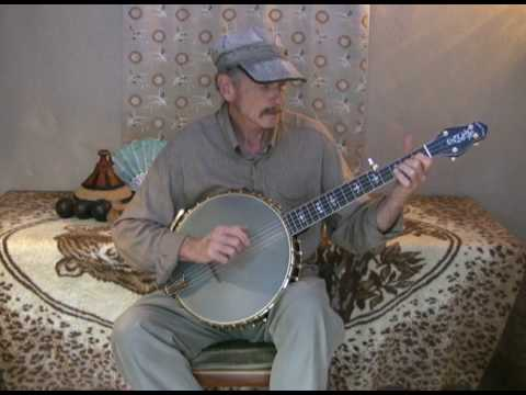 Original Clawhammer Cello Banjo Skippin'Down