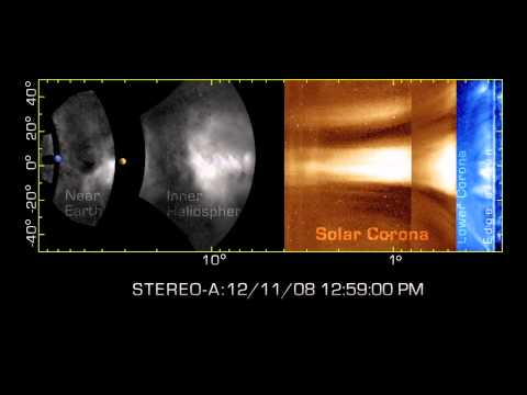 NASA STEREO - NASA Spacecraft Track Solar Storms From Sun To Earth