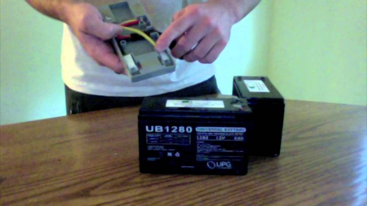 Wiring Diagram For Apc Ups : Apc rbc battery assembly video youtube