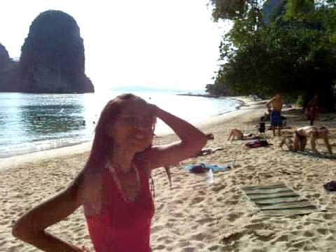 Railay Beach, Krabi, Thailand. Phra Nang Beach, a beautiful bay! 10 minutes from Ao Nang