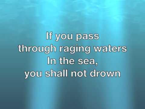 Be Not Afraid with Lyrics