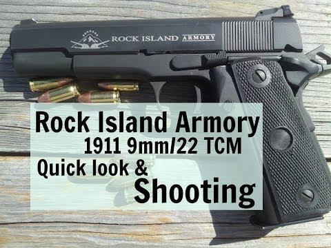 Rock Island Armory 1911 9mm/22 TCM