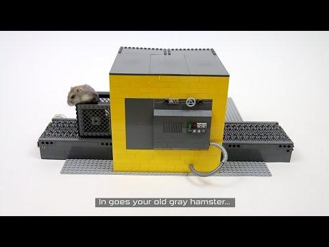 Lego Hamster Washing Machine