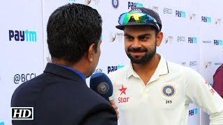 IND vs SA 1st Test: Virat Kohli Reacts on thrashing SA