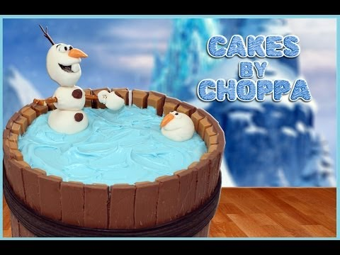 Olaf Kit-kat Cake | Disney's Frozen (how To) video