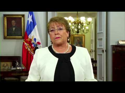 Public Forum: Michelle Bachelet's video message