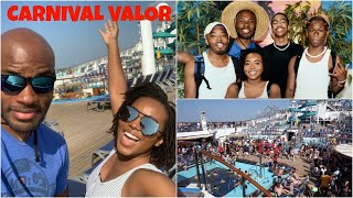 THE CRAZIEST BOARDING DAY....| Carnival Valor Vlog Day 1