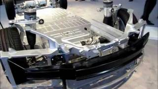 2012 NAIAS - Tesla S Chassis Tech Display by Frank Sherosky.wmv