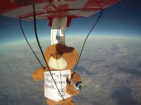HAB flight bearlift1 Before camera shutdown Oct 7, 2012