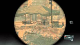 METAL GEAR SOLID V: THE PHANTOM PAIN Sniper practice