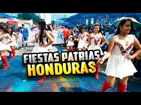 Desfiles patrios Honduras 15 de septiembre 2018