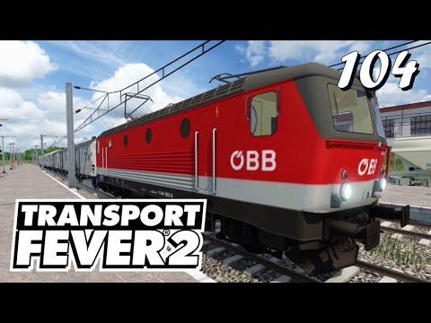 Transport Fever 2 S6/#104: Mit der ÖBB 1144 über viele Brücken [Lets Play][German][Deutsch]