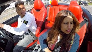 i nearly killed my mum in my new car (DRIVING WITH MY MUM IN A BMW CONVERTIBLE)
