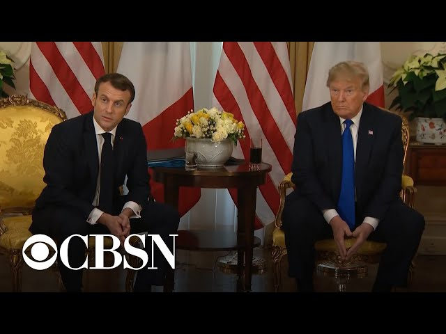Trump calls Canadian Prime Minister Justin Trudeau quottwo-facedquot after NATO hot mic gaffe
