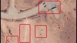 من قصف قاعدة الوطية الجوية في ليبيا؟