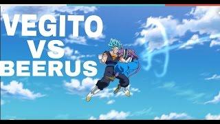 Dragon Ball Super: Vegito Vs Beerus (NEW GOD BORN)!!
