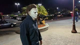 Michael Myers at the Movie Theater!!!