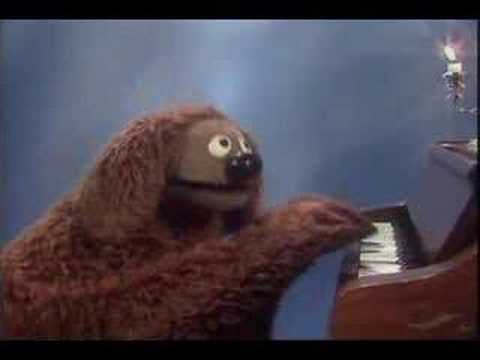 Muppet Show. Rowlf the Dog - When (s02e19) Video