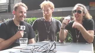 Eyre Llew (UK) in Singapore: Interview about their career at Music Matters