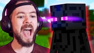 I Shouldn't Have Stared At ENDERMAN In Minecraft - Part 8