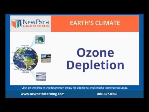 Earth's Climate -  Ozone Depletion