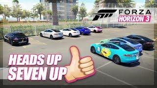 Forza Horizon 3 - Heads Up 7 Up! (Mini Games & Funny Moments)