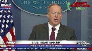 FULL: Sean Spicer Press Briefing  4/24/17 FNN