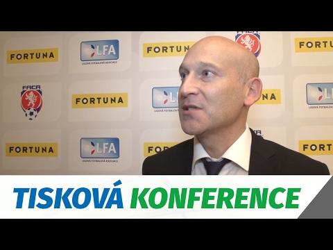 Tisková konference k oznamení partnerství se společností Fortuna