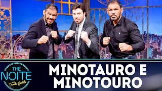 Entrevista com Minotauro e Minotouro | The Noite (18/09/18)