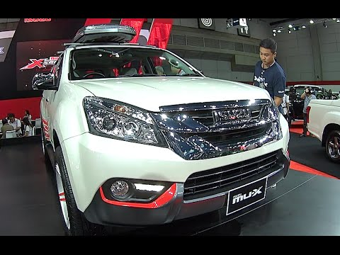 Isuzu Mu-X 2015. 2016. 2017 Video review  New World Premiere 2015