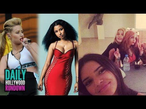 Nicki Minaj Ends Iggy Azalea Feud & Kendall Jenner Dating 5SOS Ashton Irwin? (DHR)