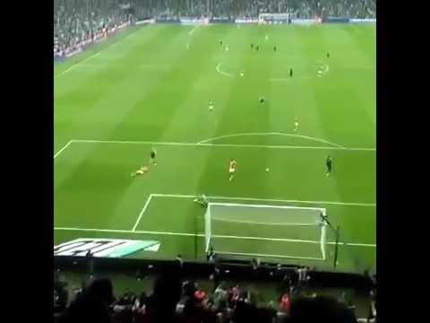 Beşiktaş 2-2 Galatasaray - Quaresma Son Dakika Pozisyonu Taraftar Çekimi