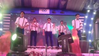 Bangladesh famous Super Dancer One of the best dance dancing MJ5 group dance 2017