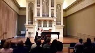 Charles Dancla,  Air Varie, No.5 (Wangyuxi Yang, violin. Eunhye Jung, piano )
