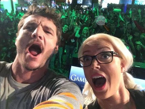 Pedro Pascal (Oberyn Martell) in Xbox Lounge