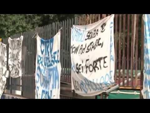 Napoli - Morte di Ciro Esposito, l'abitazione di Ciro -live- (25.06.14)